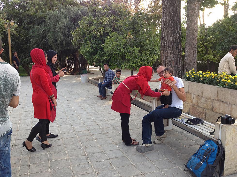 Giardino Botanico a Shiraz