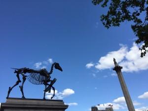 il plinth di Trafalgar Square