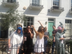 Carnival of Notting Hill, Parade